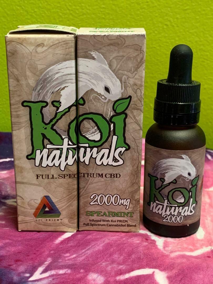 Koi Naturals 2000mg Spearmint Tincture