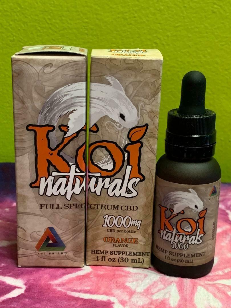 Koi Naturals 1000mg Orange
