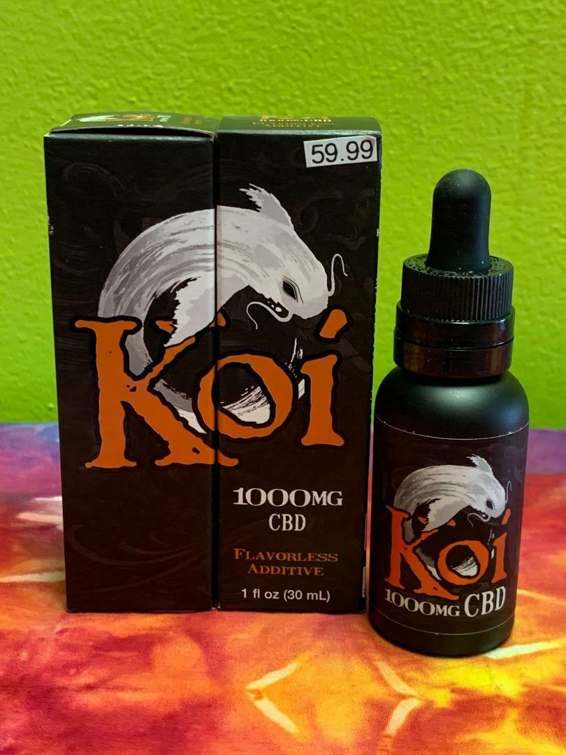Koi Hemp Extract CBD Vape Juice Flavorless Additive