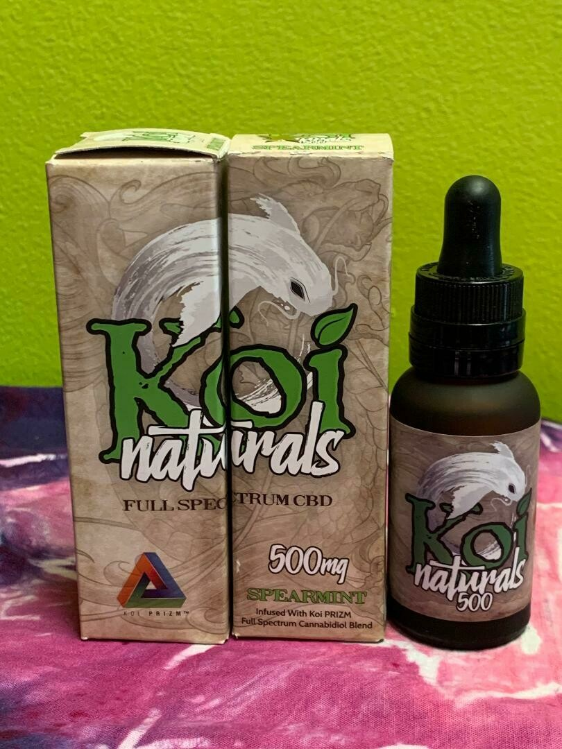 Koi Naturals 500mg Spearmint tincture