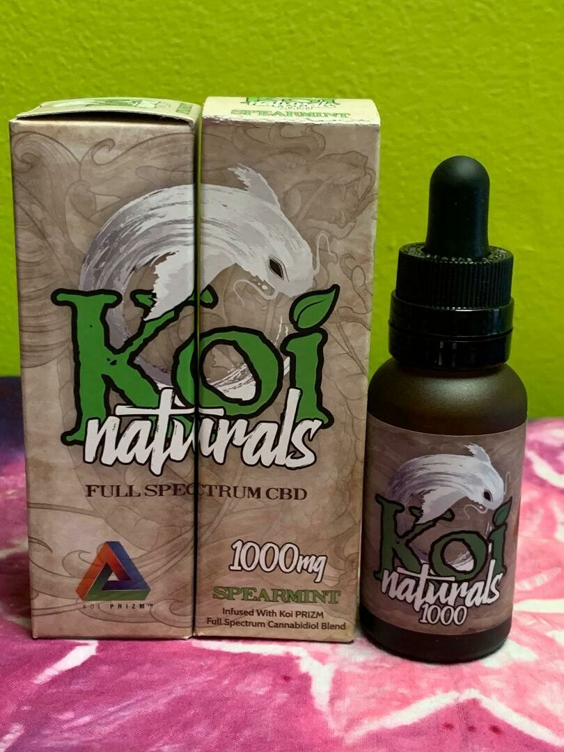 Koi Naturals 1000mg Spearmint Tincture
