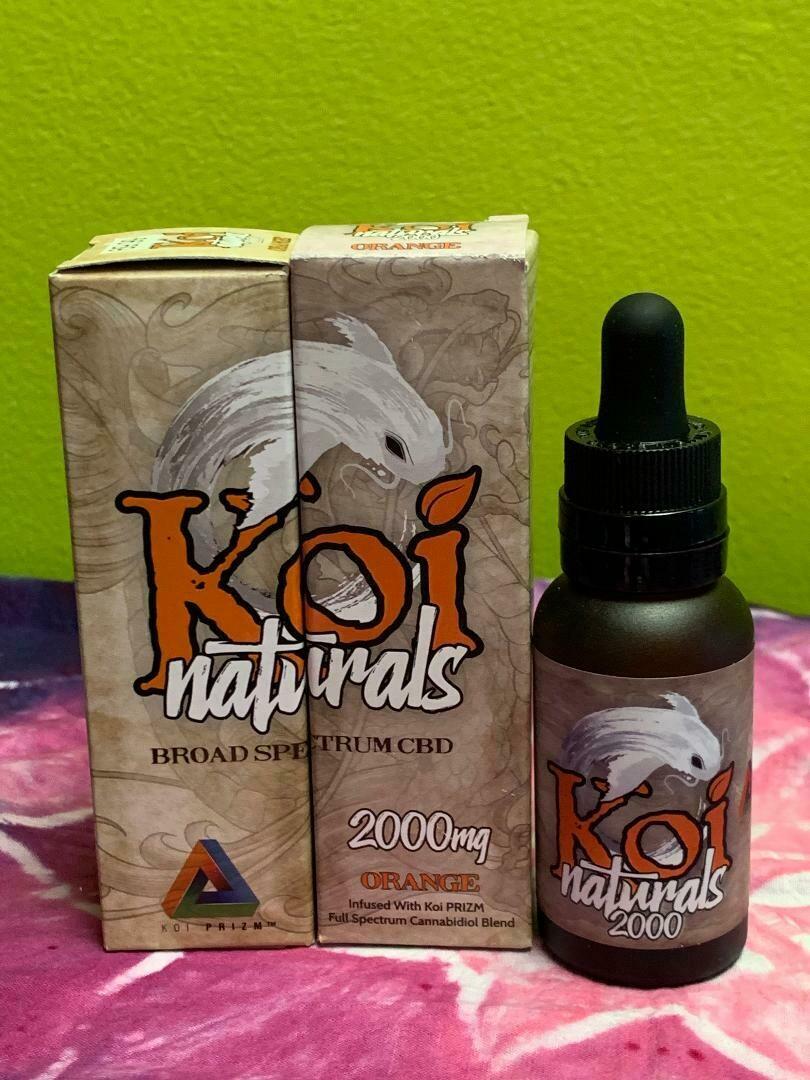 Koi Naturals 2000mg Orange Tincture