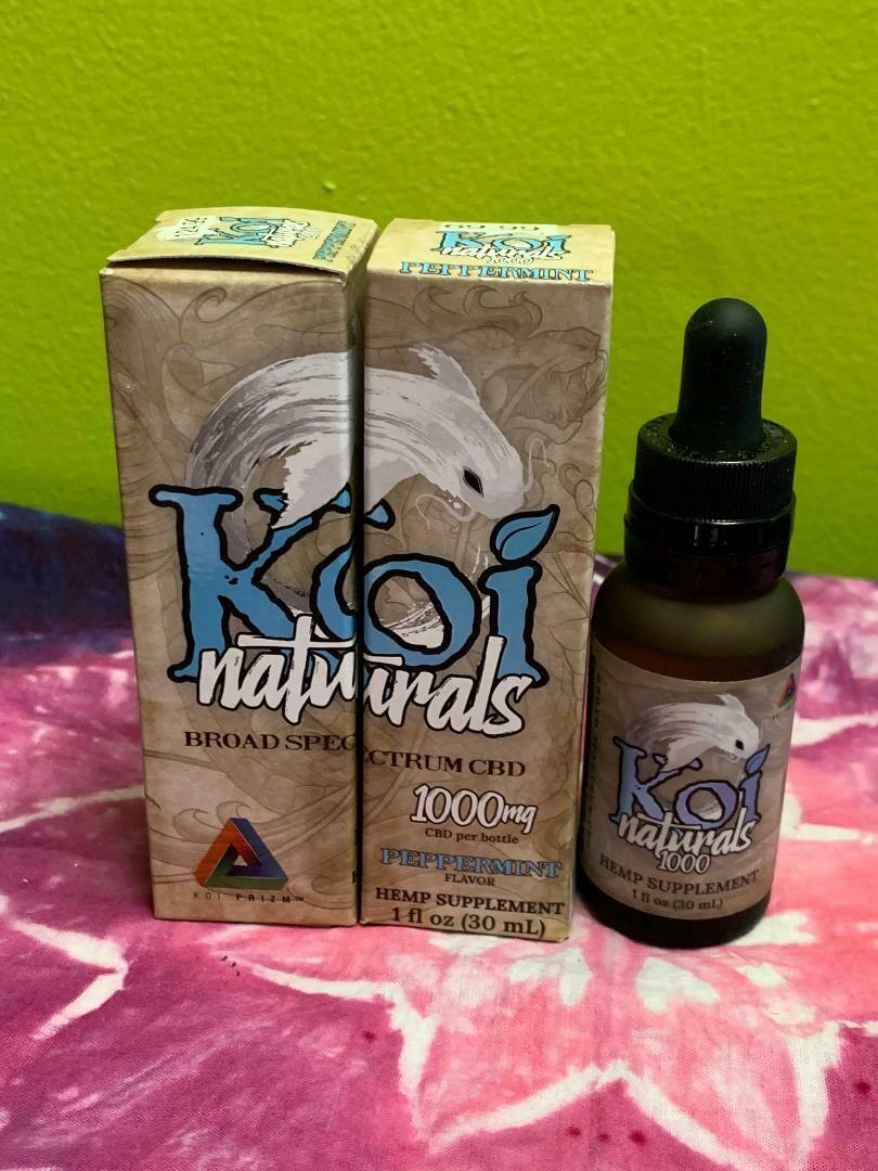 Koi Naturals 1000mg Peppermint Tincture