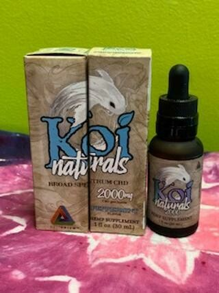 Koi Naturals 2000mg Peppermint Tincture