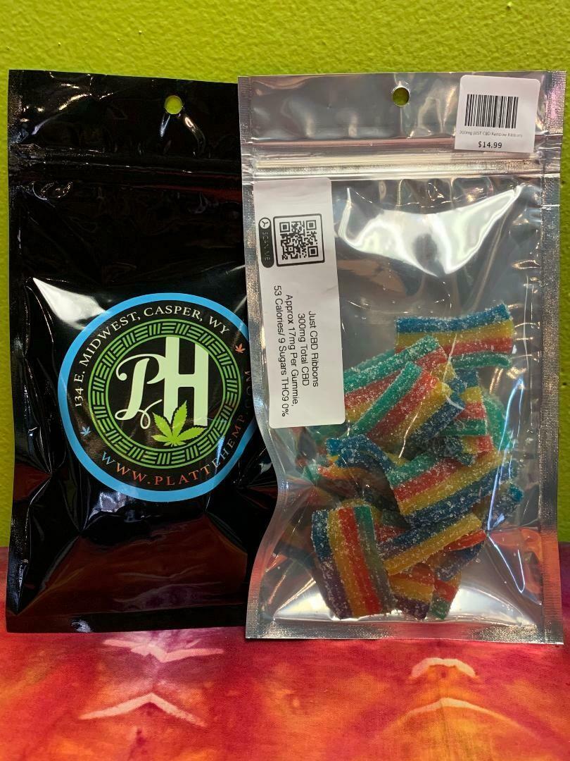 300mg JUST CBD Rainbow Ribbons