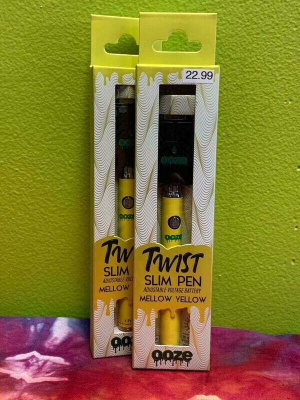 Twist Slim Pen Mellow Yellow