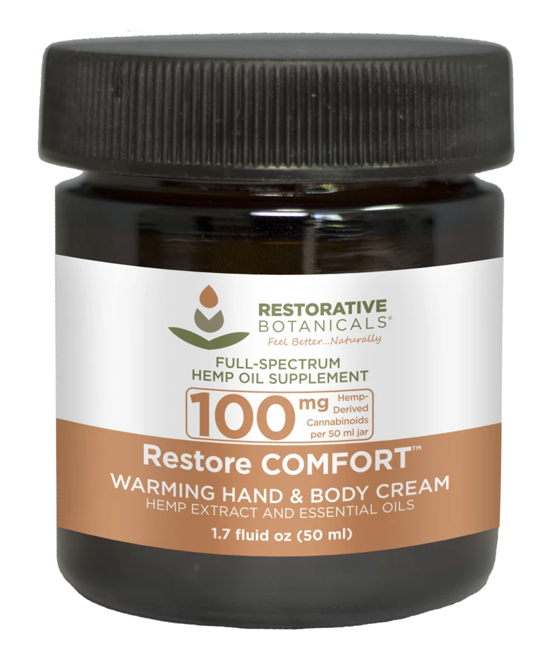 Restore Comfort Warming  Body Cream 100mg 50ml