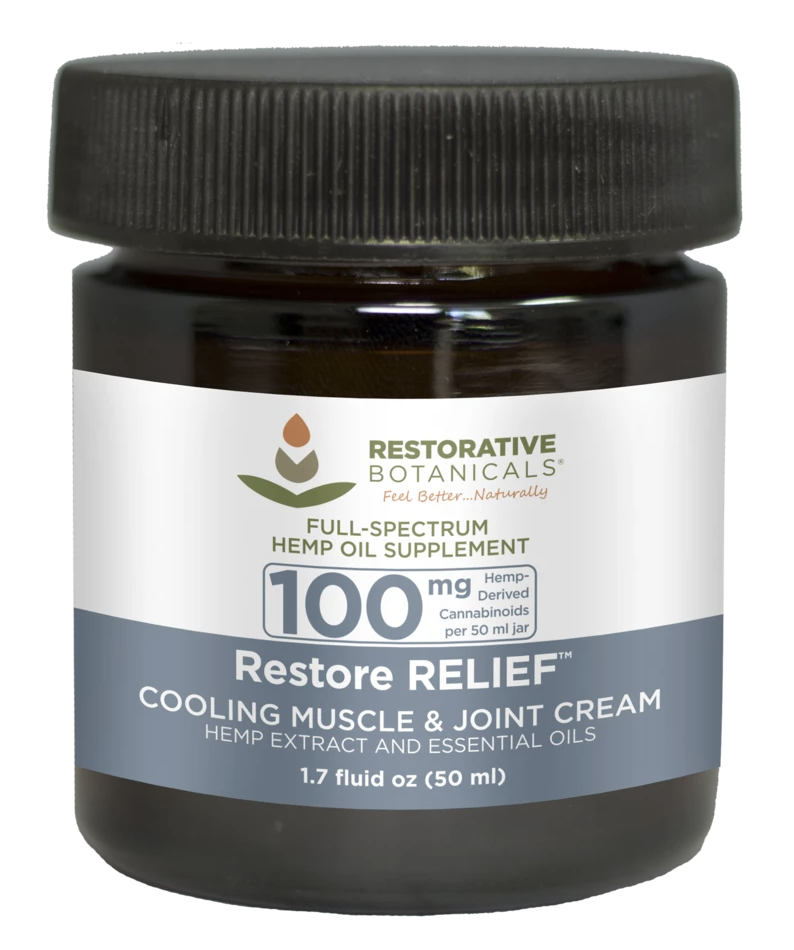 Restore RELIEF Cooling Muscle and Joint Cream 100mg 50ml
