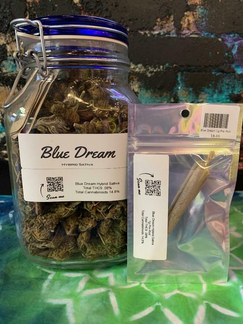 Blue Dream 1g Pre-Roll