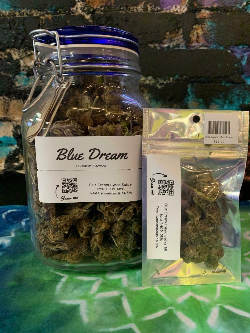 Blue Dream 1/8oz Flower