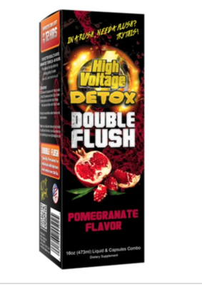 High Voltage Detox Double Flush 12 hr