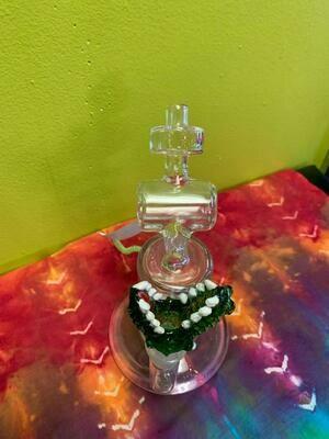 Glass on Glass Alligator Bowl