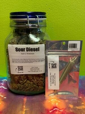 Sour Diesel 1g Pre-Roll