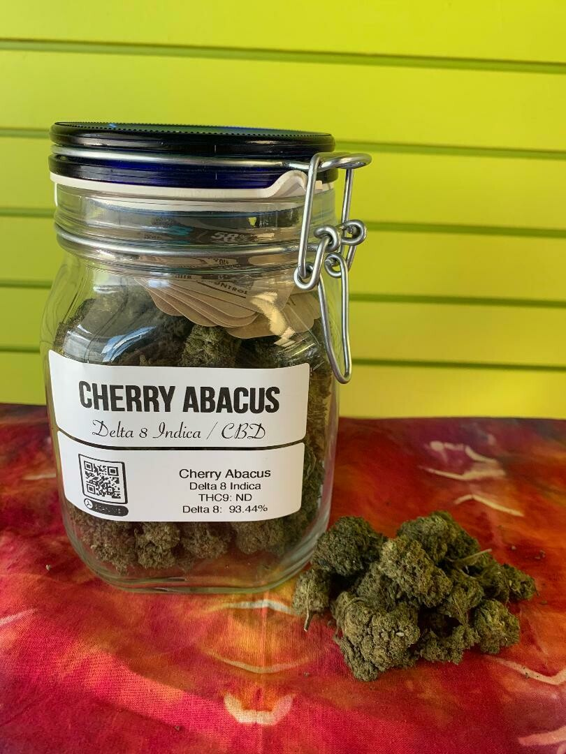 Cherry Abacus Delta 8 Flower 1/8