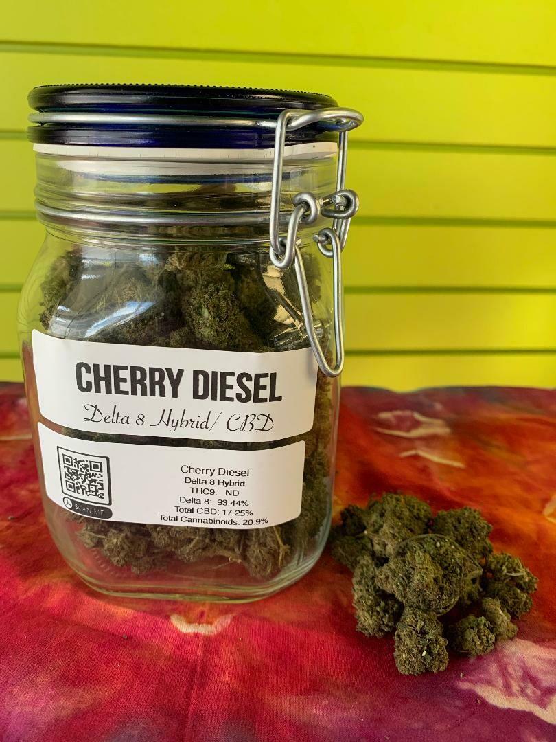 Cherry Diesel Delta 8 Flower 1/8
