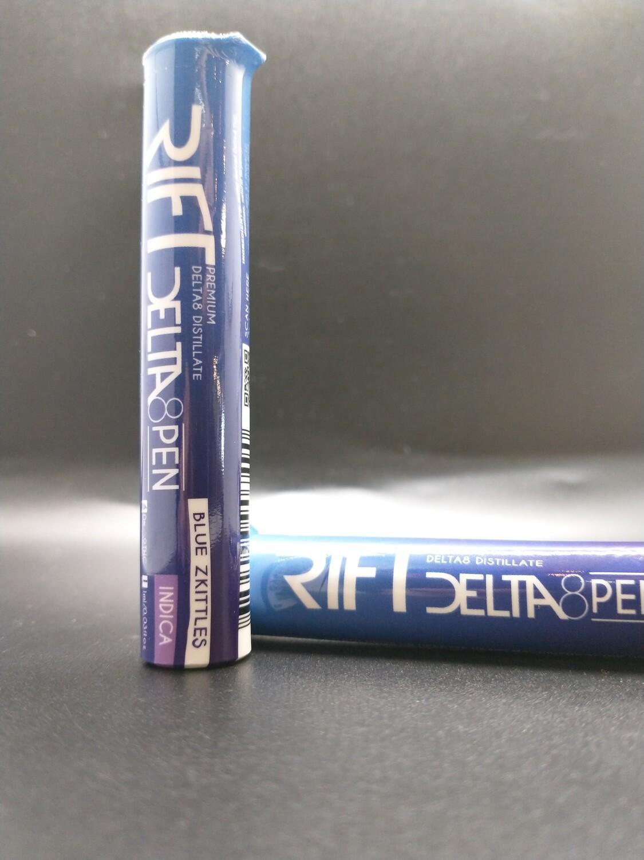 Rift Delta-8 Pen Blue Zkittles Indica
