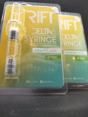 Rift Delta 8 Syringe Hawaiian Haze Hybrid