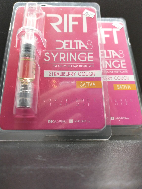 Rift Delta 8 Syringe Strawberry Cough Sativa