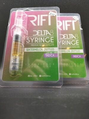Rift Delta 8 Syringe Watermelon Zkittles Indica