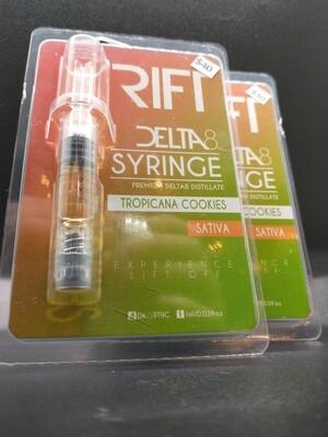 Rift Delta 8 Syringe Tropicana Cookies Sativa
