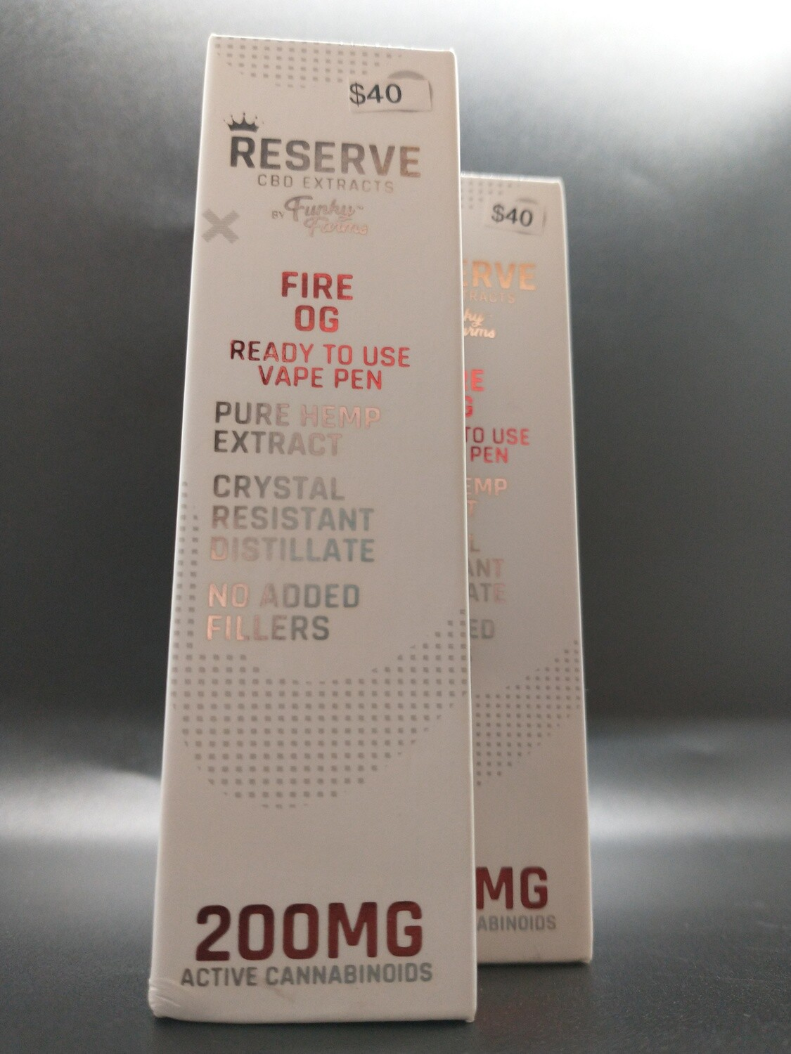 Reserve Funky Farms Fire OG 200mg Disposable