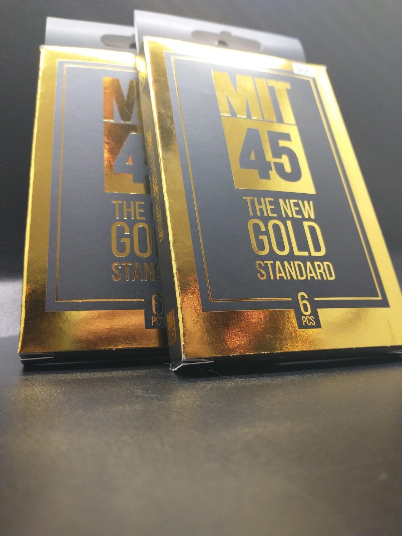 MIT 45 6pcs The New Gold Standard