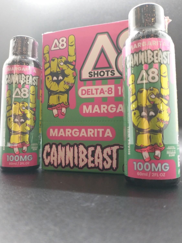 Cannibeast D8 100mg Shot Margarita