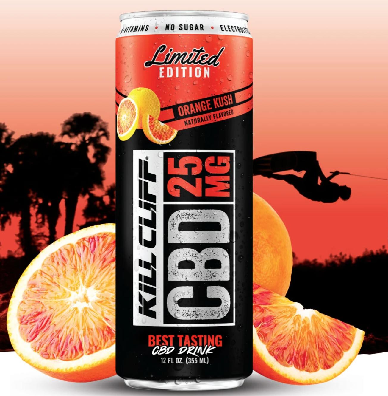 Kill Cliff CBD Drink Orange Kush
