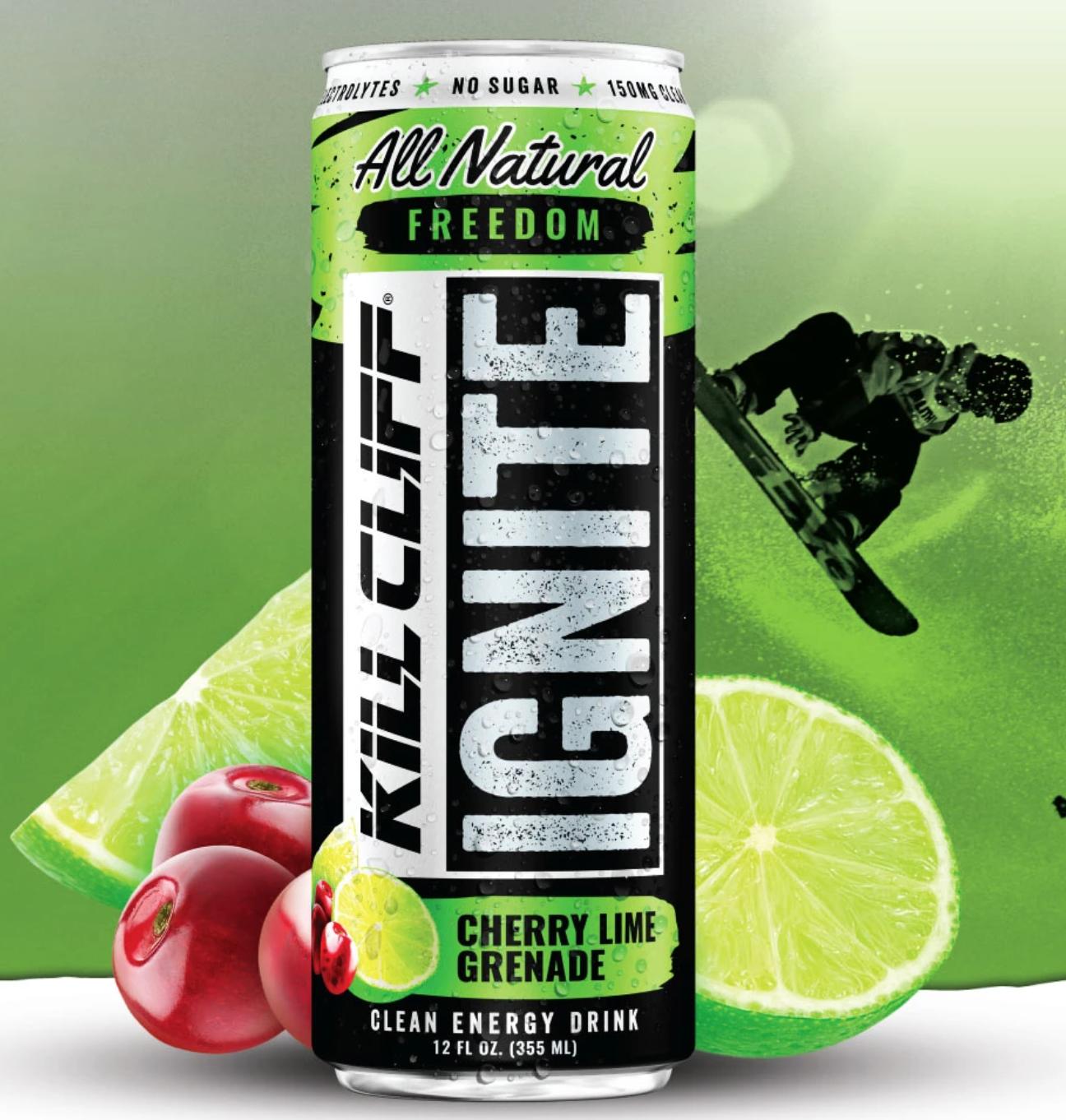 Kill Cliff Ignite Cherry/Limeade