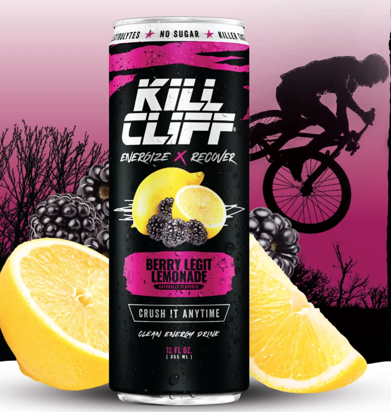 Kill Cliff Recover Berry Legit Lemonade