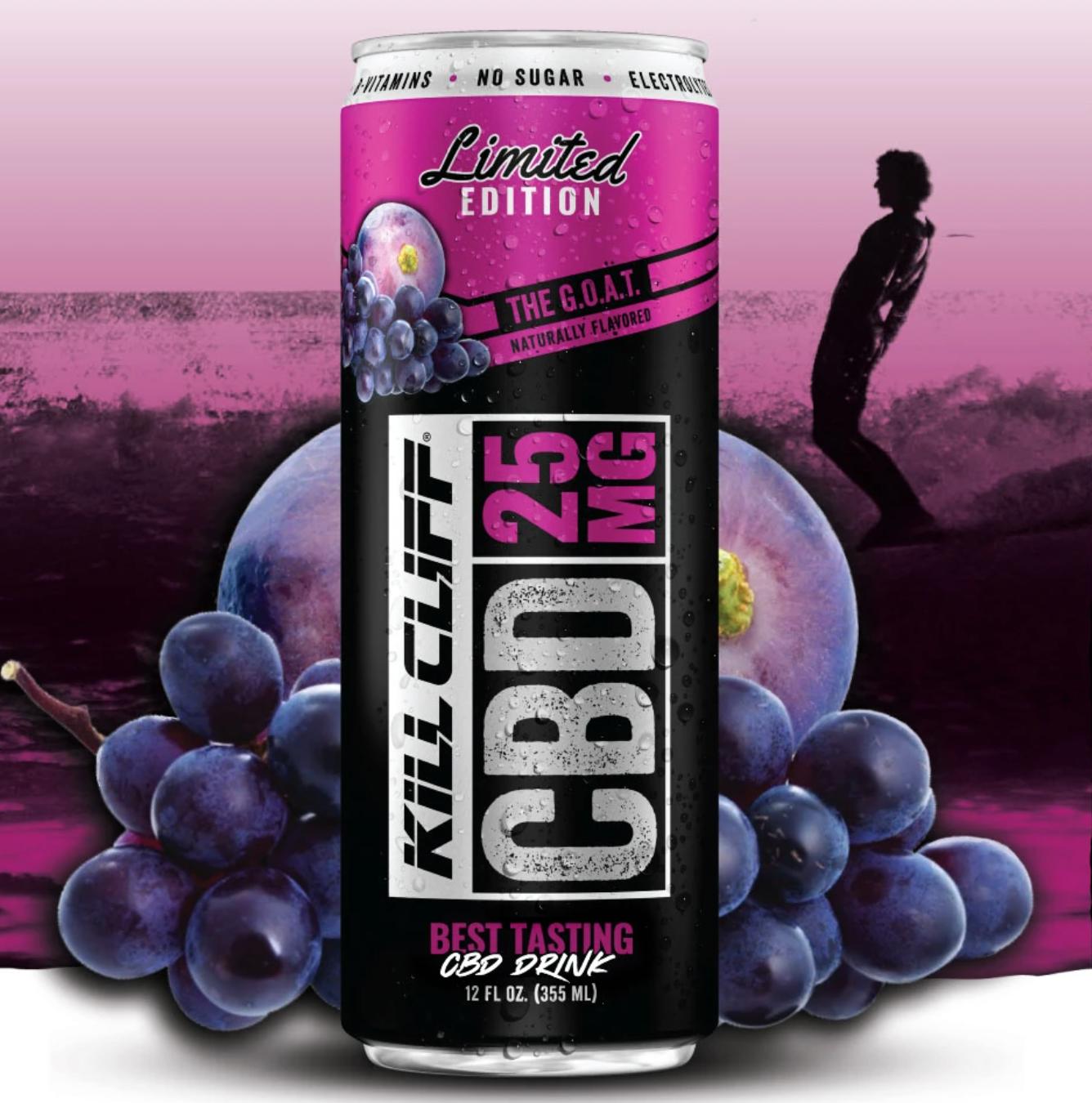 Kill Cliff CBD Drink G.O.A.T
