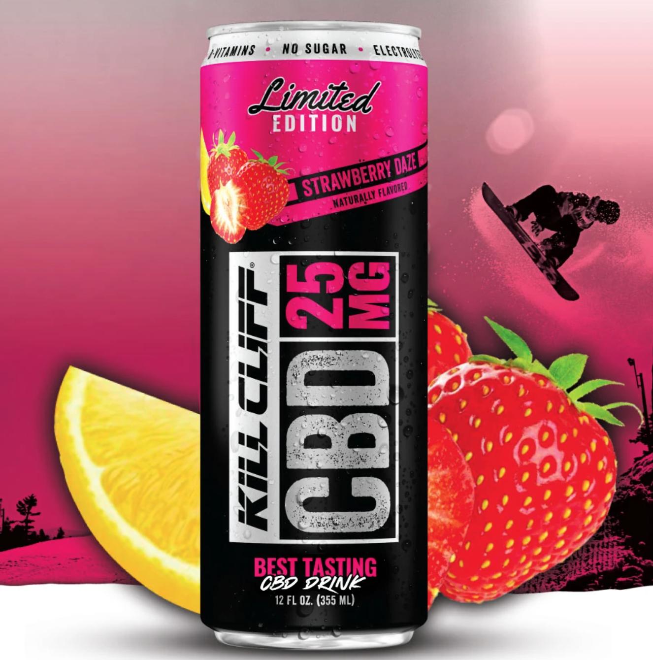Kill Cliff CBD Drink Strawberry Daze