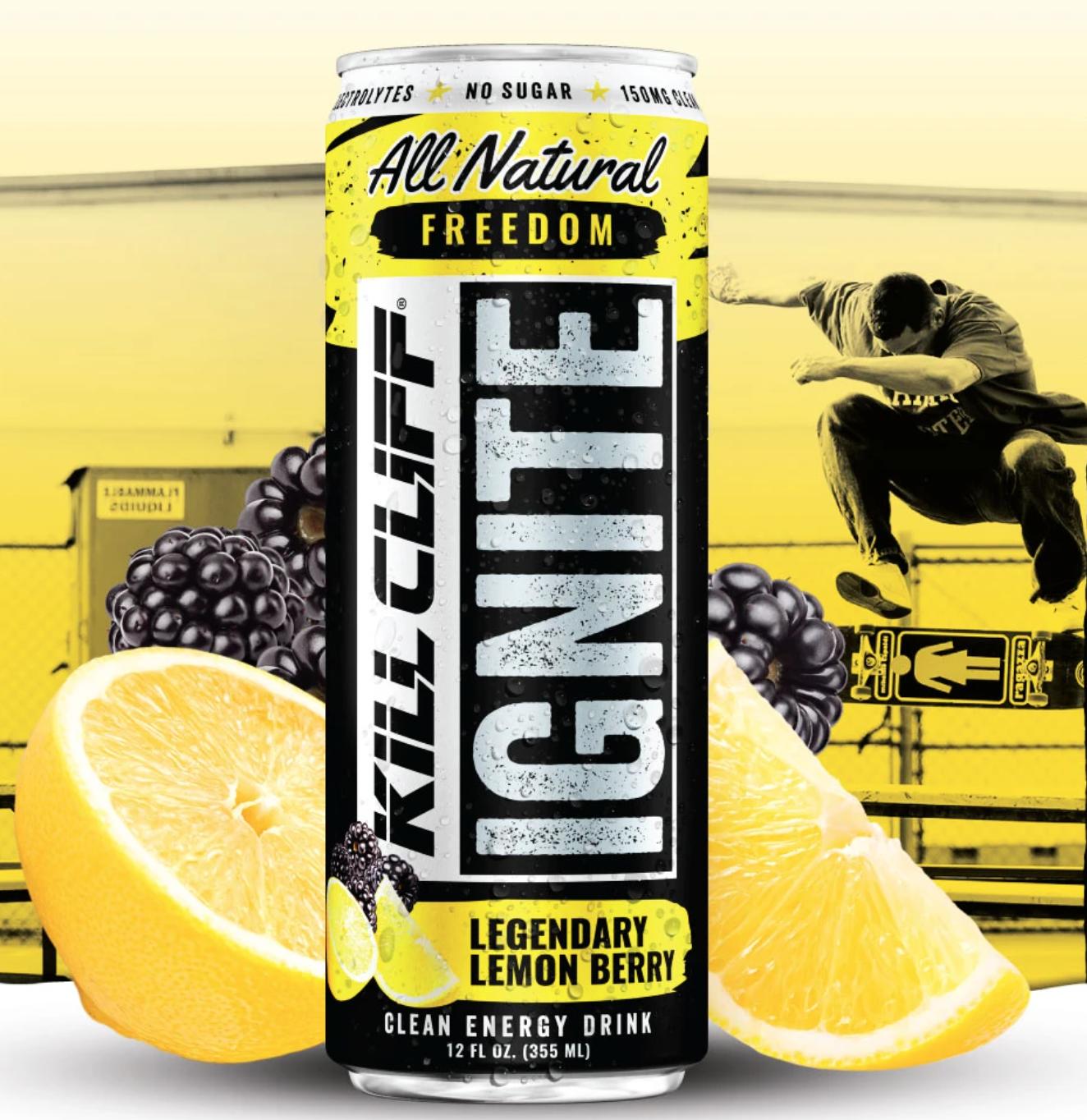 Kill Cliff Ignite Lemon Berry