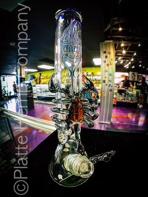 Scorpio Custom Art Water Pipe