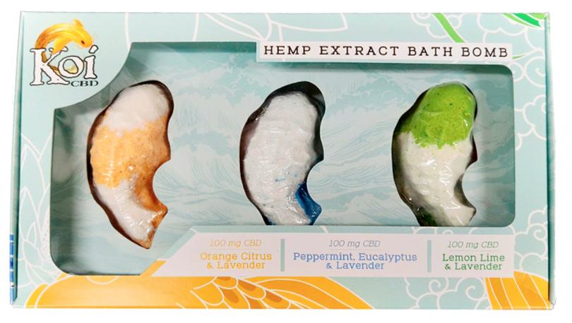 Koi Bath Bombs Variety 3 Pack