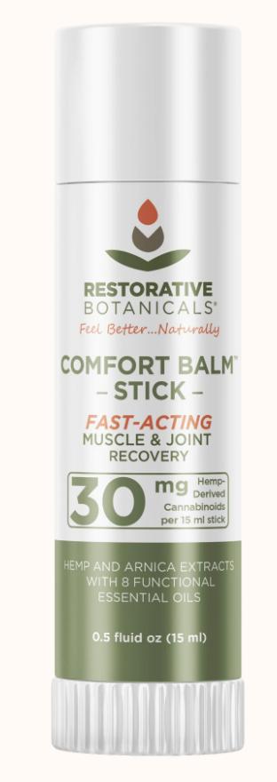 Restorative Botanicals: Comfort Balm Stick 30mg