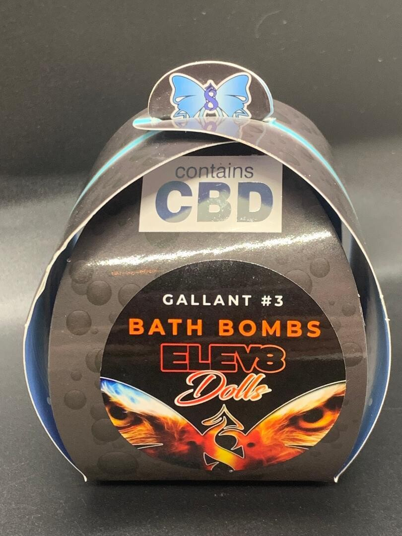Bath Bomb Gallant #3 100mg