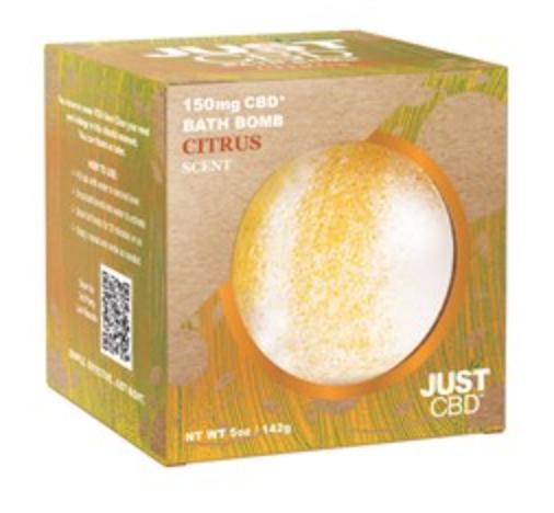 Just CBD Citrus Bath Bomb