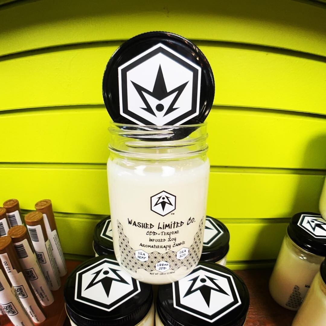 Pine Treez Washed Limited Co CBD Terpene Candle