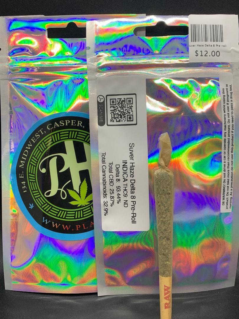 Suver Haze Delta 8 Pre-roll 1pc