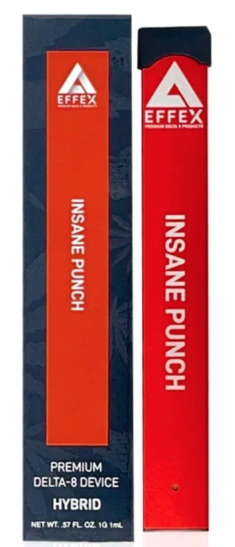 Effex Insane Punch Disposable Pen