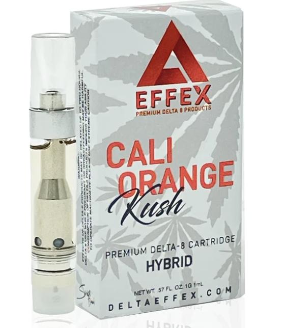 Effex Cali Orange Kush Hybrid Delta-8 Vape Cartridge