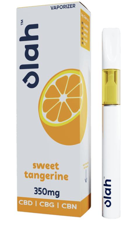Olah Sweet Tangerine 350mg CBD CBG CBN Disposable Pen
