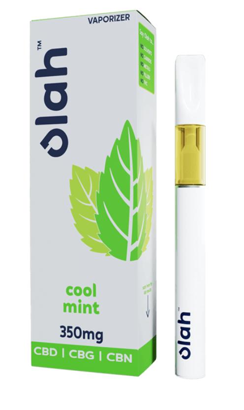 Olah Cool Mint 350mg CBD CBG CBN Disposable Pen