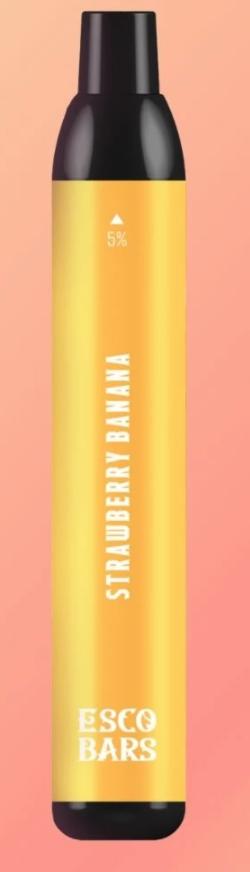 Esco Bars Strawberry Banana