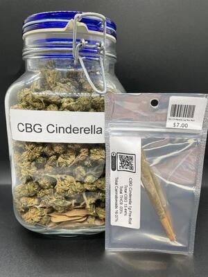 CBG Cinderella 1g Pre-Roll