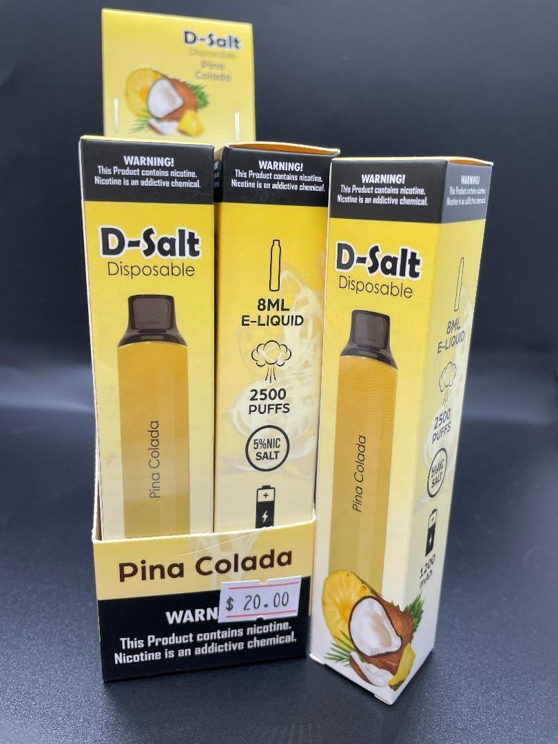 D-Salt 2500 Puff Pina Colada