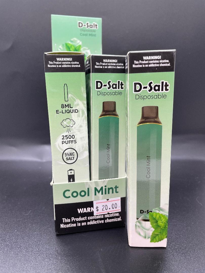 D-Salt 2500 Puff Cool Mint