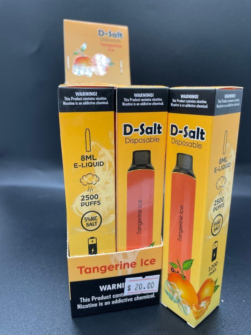 D-Salt 2500 Puff Tangerine Ice