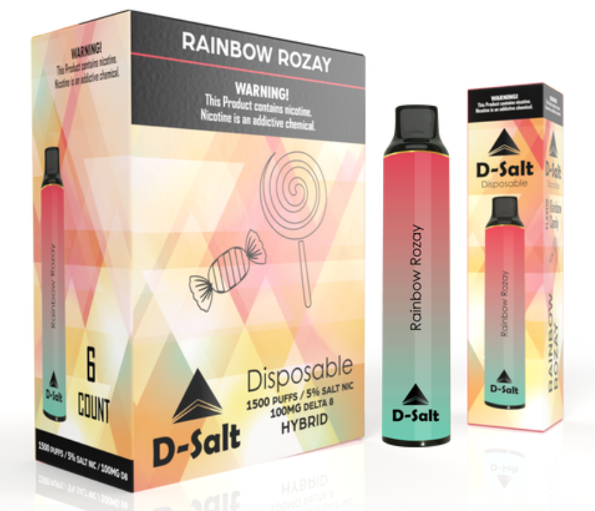 D-Salt Hybrid Rainbow Rozay
